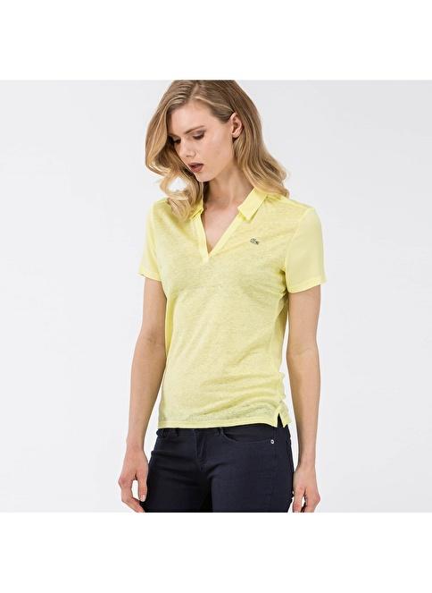 Lacoste Polo Yaka Tişört Sarı